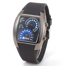 LED laikrodis automobilių mėgėjams!